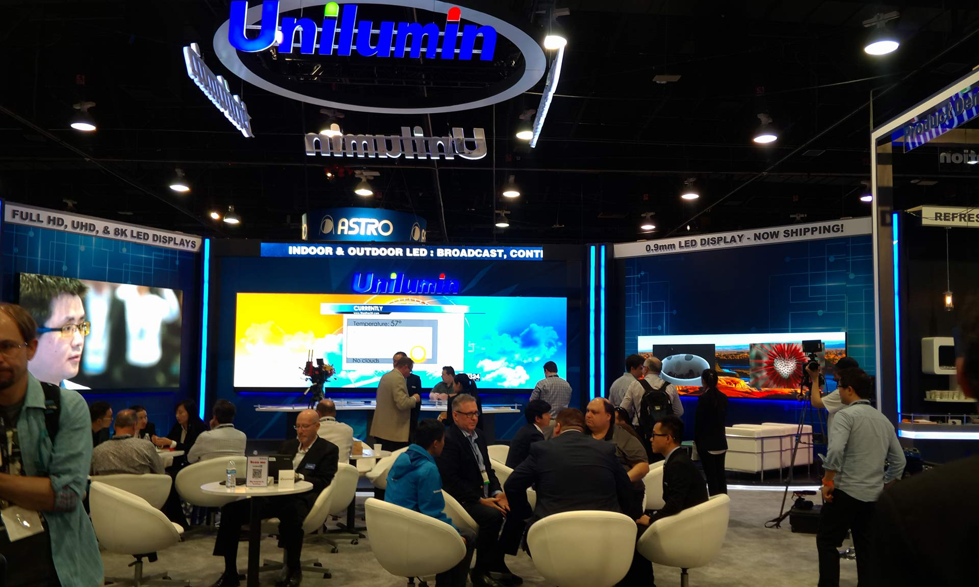 Unilumin showcases stunning visual solutions at NAB 2017