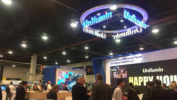 An Adventure Full of Surprise That Unilumin Attended NAB 2018