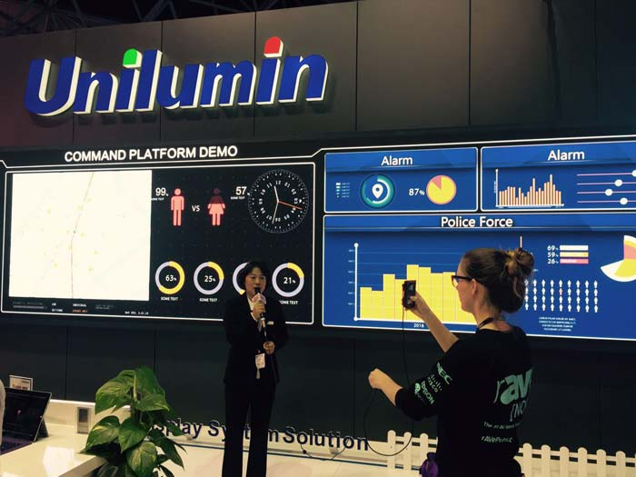 A great success - Unilumin at ISE